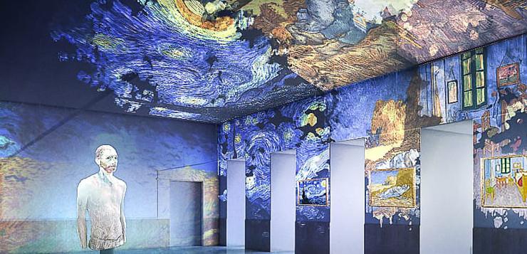 La suggestiva Van Gogh – The Immersive Experience arriva anche a Napoli