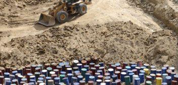 L'affaire dello smaltimento criminale dei rifiuti non è mai finito.