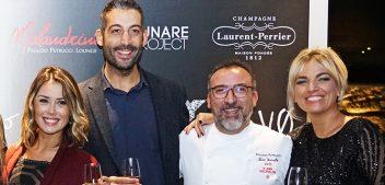 Happening a Palazzo Petrucci, tra champagne, alta cucina e performing art