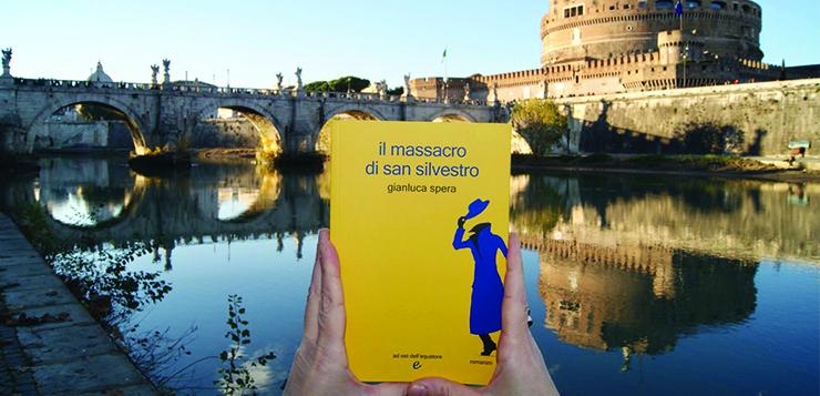 """L'intervista a Gianluca Spera / """"Il massacro di San Silvestro"""" tra mood giallo e venature rosso sangue."""