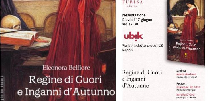 Regine di cuori e Inganni d'Autunno, il nuovo libro della giornalista ed editor Eleonora Belfiore